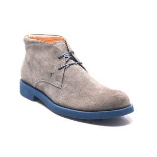 Tod's Men's Lace-Up Ankle Boots Brown/Navy