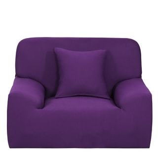 Pleasing Purple Slipcovers Furniture Covers Find Great Home Decor Forskolin Free Trial Chair Design Images Forskolin Free Trialorg