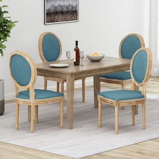 Link to Phinnaeus French Country Dining Chairs (Set of 4) by Christopher Knight Home Similar Items in Dining Room & Bar Furniture