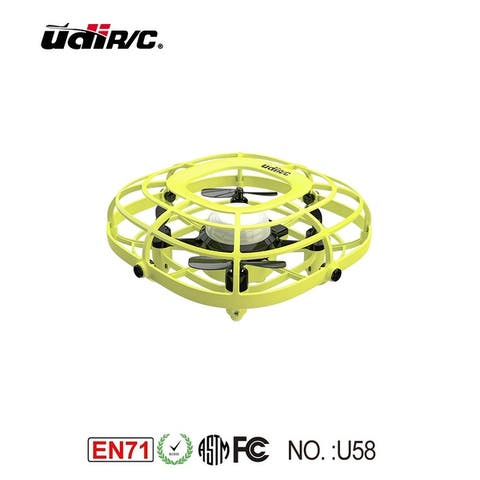 UDI U58 Infrared Induction Control Drone 2-Way Design Quadcopter - 4.17 x 4.17 x 1.8 in