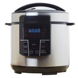 Brentwood Epc-626 6 Quart Digital Pressure Multi Cooker - Stainless Steel