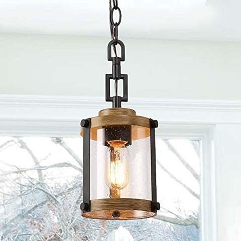 Industrial rustic kitchen pendant lighting glass kitchen island lighting