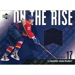 Signed Kovalchuk Ilya Atlanta Thrashers Ilya Kovalchuk 200203 Upper Deck On The Rise ORIK Unsigned