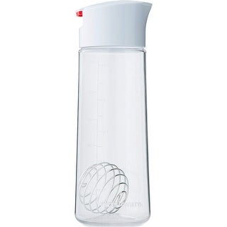 Link to Whiskware Tritan Salad Dressing Shaker with BlenderBall Wire Whisk - White/Red - One Size Similar Items in Cooking Essentials