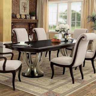 Link to Copper Grove Buhovo Contemporary 106-inch Espresso Dining Table Similar Items in Dining Room & Bar Furniture