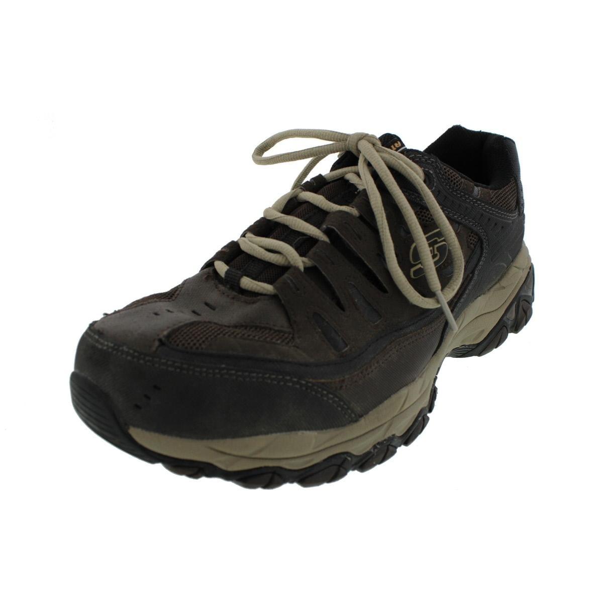 94c623b8cd4 Skechers Mens After Burn Casual Shoes Leather Memory Foam