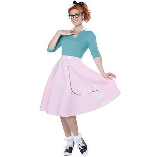California Costumes Poodle Skirt Adult Costume - Pink