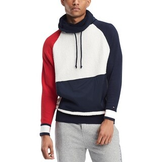Tommy Hilfiger Mens Jeff Sweater Funnel-Neck Long Sleeves