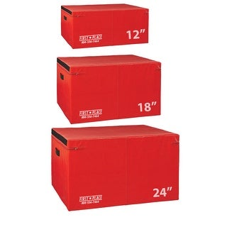 First Place Economy Foam Soft Plyo Boxes - Red