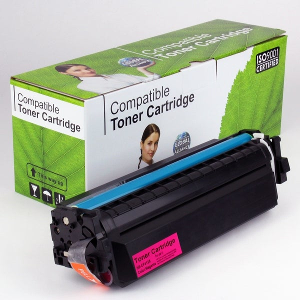 Value Brand replacement for HP 410X Magenta Toner CF413X (5,000 Yield)