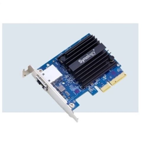Synology Accessory E10G18-T1 10Gb Ethernet Adapter 1xRJ45 port PCI Express Retail