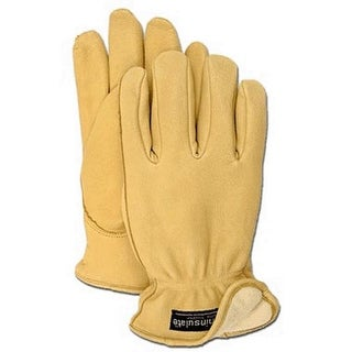 Boss 7185S Men's Lined Deerskin Gloves, Small
