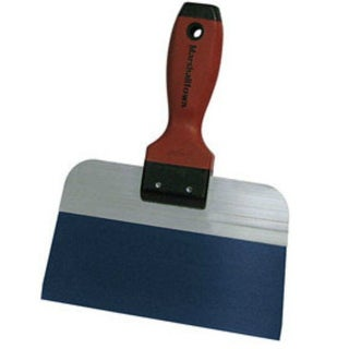 """Marshalltown 14337 Taping Knife With DuraSoft Handle, 8"""", Blue Steel"""
