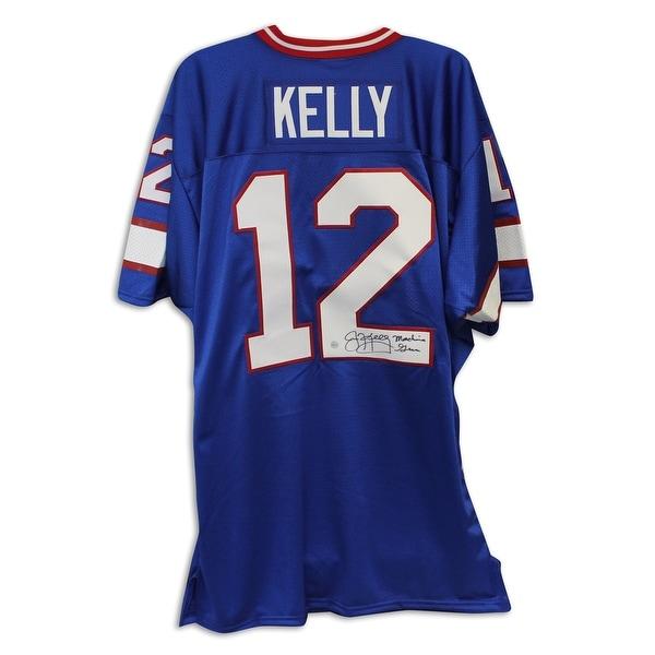 8333d8c3f09 Shop Jim Kelly Buffalo Bills Autographed Jersey Inscribed
