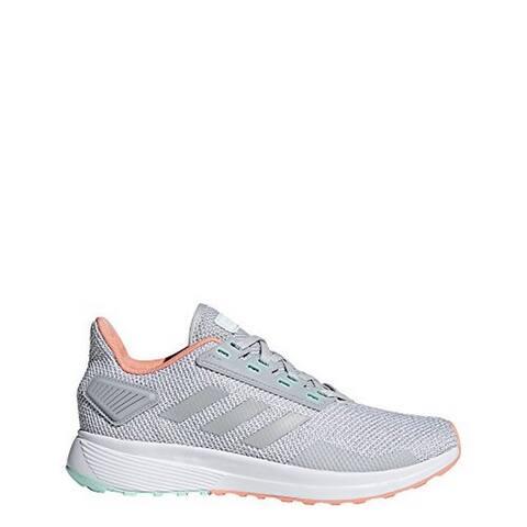 Adidas Womens Duramo 9, Grey/Grey/Chalk Coral