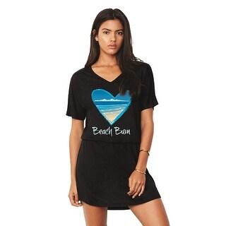 Women's Summer Cover Up - V-Neck Over-Swimsuit Dress - Beach Lover