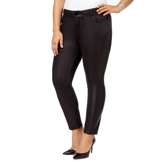William Rast Black Women's 18W Plus Stretch Skinny Legging Pants