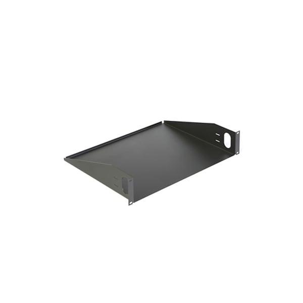 Offex Rackmount Value Line Shelf, 19 inch Rack 14 75 deep inch, 2U