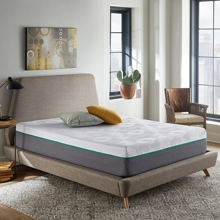 Link to 10-Inch Hybrid Mattress, Medium Firm Feel, Copper Infused Foam Similar Items in Mattresses
