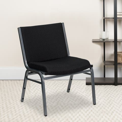 Big & Tall 1000 lb. Rated Fabric Stack Chair