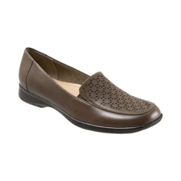 Trotters Womens Jenn Leather Closed Toe Loafers