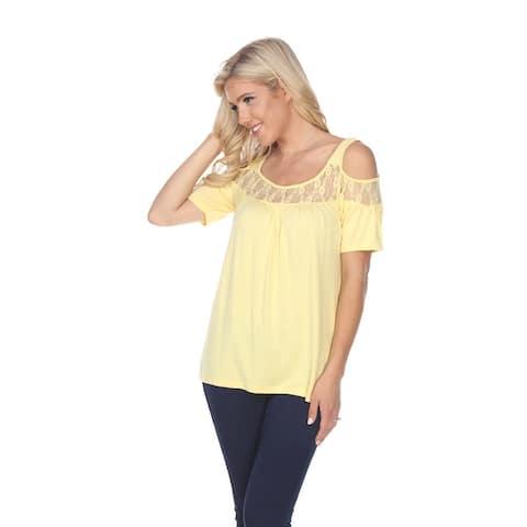 Bexley Tunic Top - Yellow