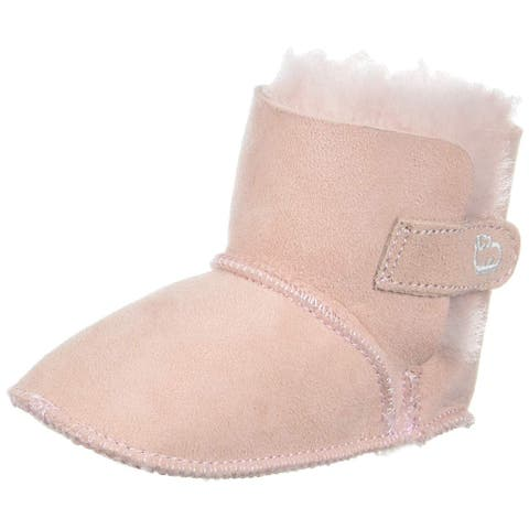 LAMO Baby Girl Baby Bootie Pull On Boots