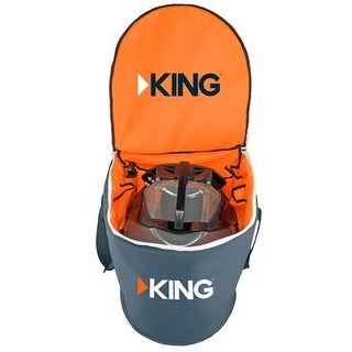 KING Portable Satellite Antenna Carry Bag for Tailgater or Quest Antenna Portable Satellite Antenna Carry Bag for Tailgater or