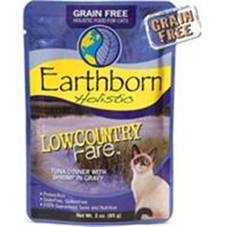 Earthborn 40071624 3 oz Grain-Free LowCountry Tuna Pouch Cat Food