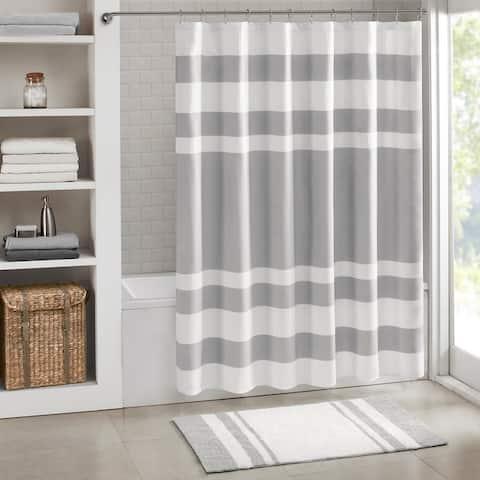 Porch & Den Niantic Shower Curtain with 3M Treatment