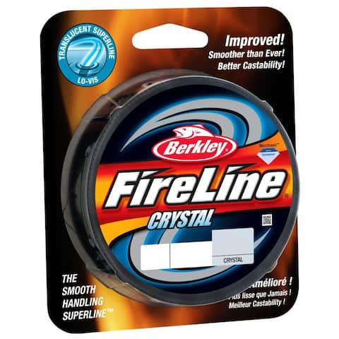 Berkley FireLine Fused Crystal Fishing Line (125 yds) - 6 lb Test - 6 lb. Test