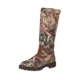 """Rocky Outdoor Boot Mens 16"""" Low Country Waterproof Snake Mossy RKS0232"""