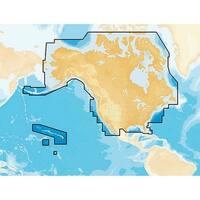 Lowrance MSD/NAVPLUSNI Navionics+ Preloaded - USA/Canada Gold & Hotmaps Preloaded Chart
