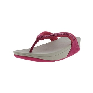 4af8ce438a802 Shop Fitflop Womens Swirl Wedge Sandals Slide - Free Shipping On Orders  Over  45 - Overstock - 14008993