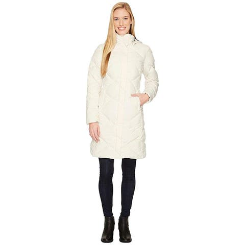 The North Face Women's Miss Metro Winter Fashion Coat, Vintage White, Medium