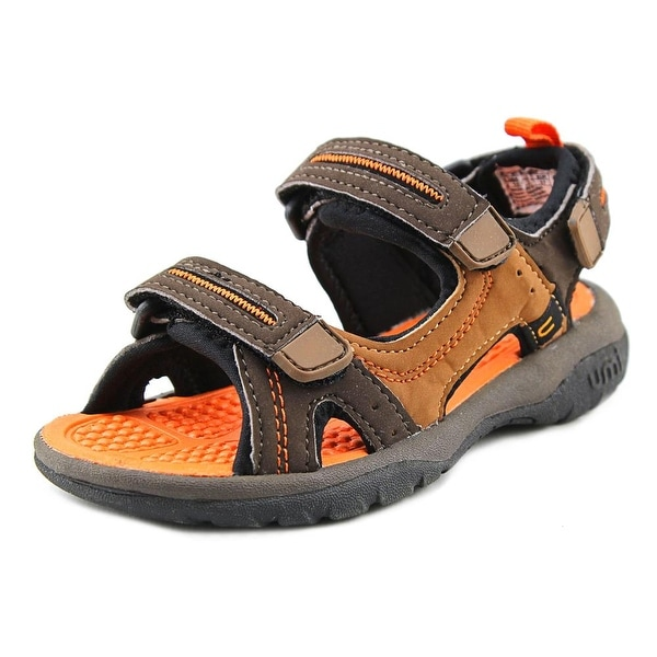 Umi Reece Toddler Open-Toe Synthetic Brown Sport Sandal