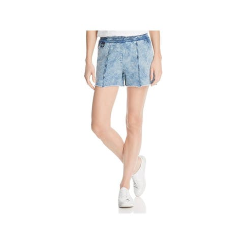 Kenneth Cole New York Womens Shorts Faded Seamed
