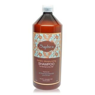 Saphira Keratin Moisturizing Shampoo 1 Liter