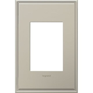Legrand AWC1G3AN4 adorne 1 Gang Metal Wall Plate - 4.56 Inches Wide