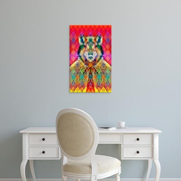 Easy Art Prints Ali Gulec's 'Corporation Wolf' Premium Canvas Art