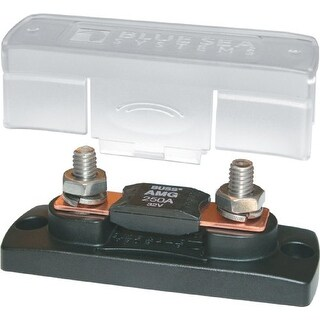 Blue Sea Systems 19000M Blue Sea Systems 100-300A MEGA/AMG Fuse Block with Cover