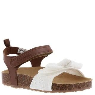 Kids Carter's Girls Welsie-Y Ankle Strap Slide Sandals