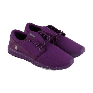 Etnies Scout Womens Purple Mesh Lace Up Sneakers Shoes