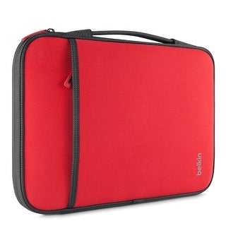 Belkin Laptop Sleeve for Microsoft Surface Pro3,Surface Pro, MacBook Air '11 Red