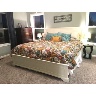 naples white king bedhome styles - free shipping today
