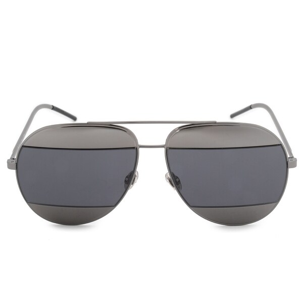 6fc78f55d2 Shop Christian Dior Split 1 Aviator Sunglasses KJ1IR 59 - Free ...