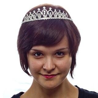 Fairy Tale Fun Rhinestone Tiara with Side Combs