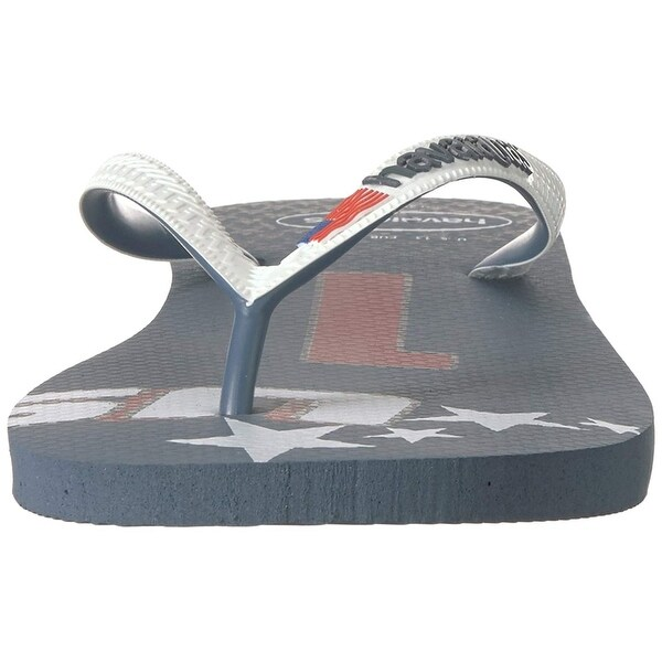 c11cf49490d4b9 Shop Havaianas Unisex Teams III - USA Sandal - Free Shipping On Orders Over   45 - Overstock.com - 27100022