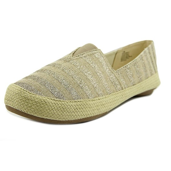 Nine West Gundy Round Toe Canvas Espadrille