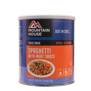 Mountain house 0030108 mountain house 0030108 spaghetti w/meat sauce 10serv can
